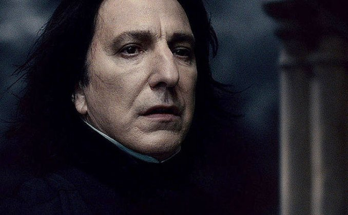 alan rickman harry potter. alan rickman harry potter